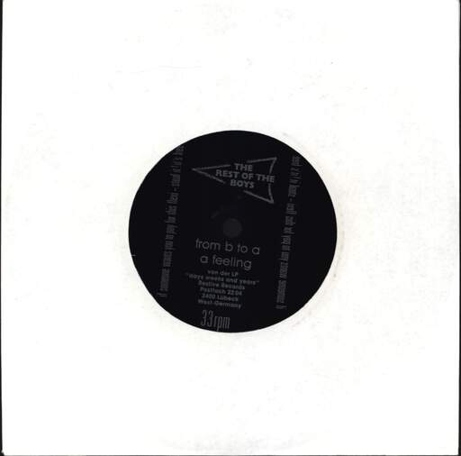 "Rest Of the Boys: Rest Of The Boys, The, 7"" Single (Vinyl)"