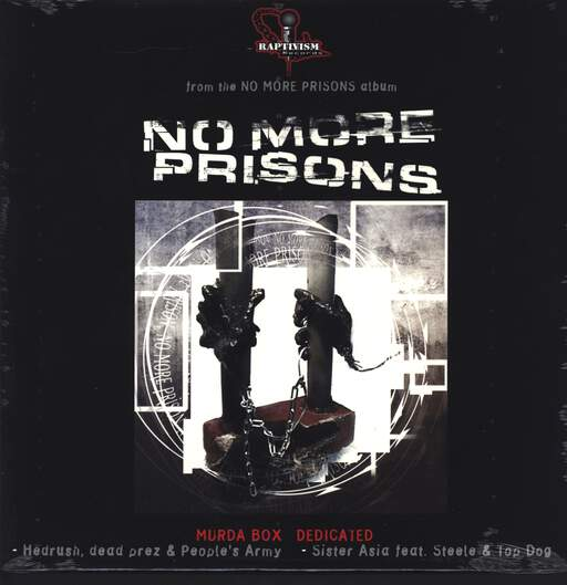 "Various: No More Prisons (The Singles), 12"" Maxi Single (Vinyl)"