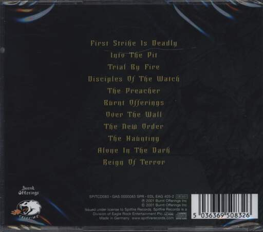 Testament: First Strike Still Deadly, CD