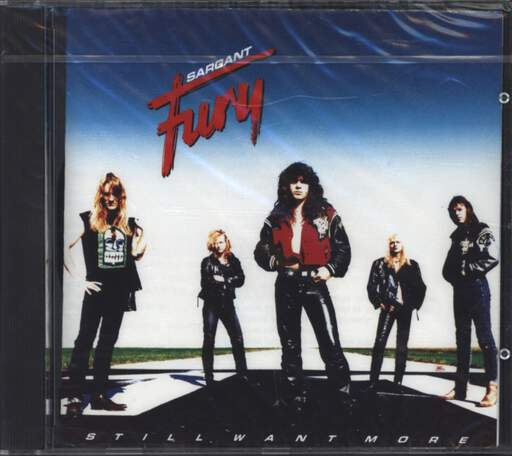 Sargant Fury: Still Want More, CD