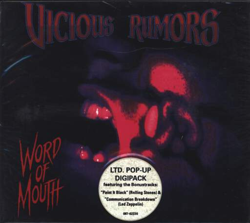 Vicious Rumors: Word Of Mouth, CD