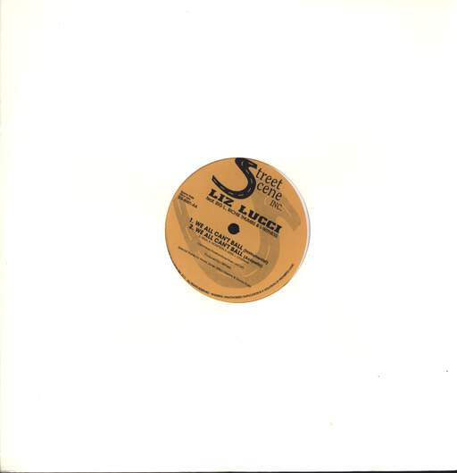"Liz Lucci: We All Can't Ball, 12"" Maxi Single (Vinyl)"