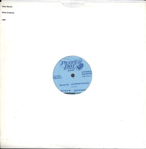 "Steve Warner: White Christmas, 12"" Maxi Single (Vinyl)"