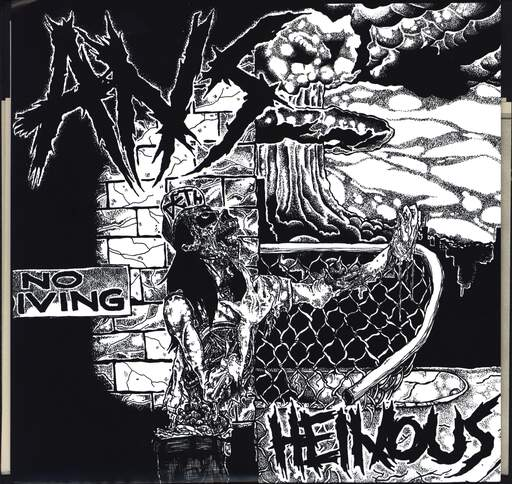 "ANS: Heinous, 7"" Single (Vinyl)"