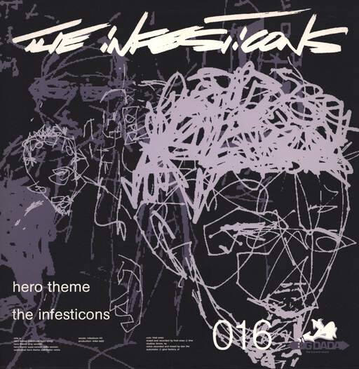 "The Infesticons: Hero Theme, 12"" Maxi Single (Vinyl)"