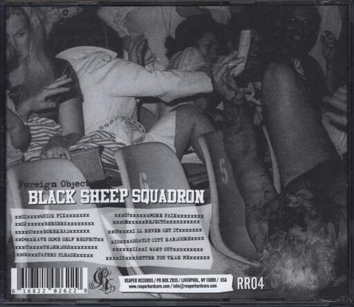 Black Sheep Squadron: Foreign Object, CD