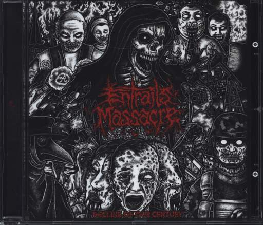 Entrails Massacre: Decline Of Our Century, CD