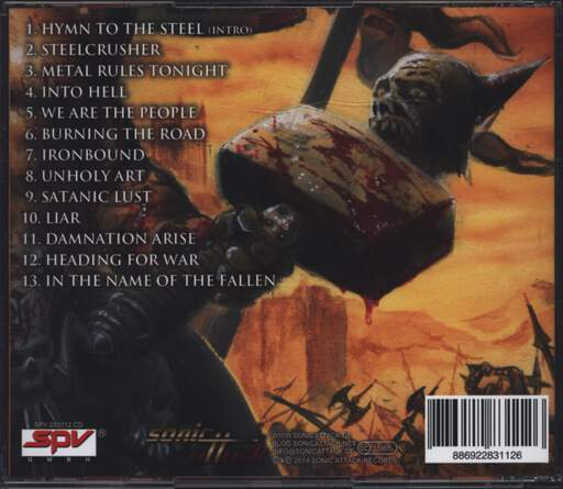 Hammercult: Steelcrusher, CD