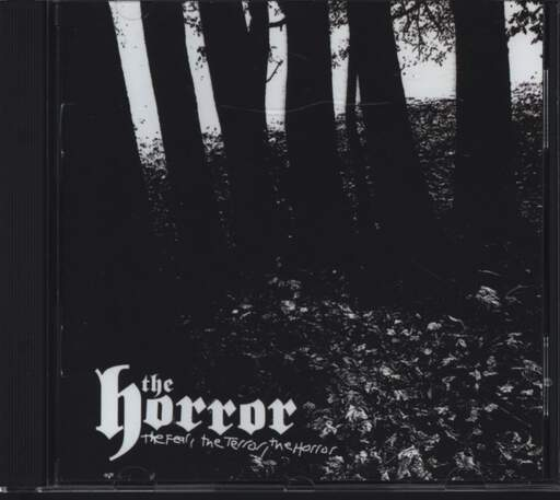 The Horror: The Fear, The Terror, The Horror, CD
