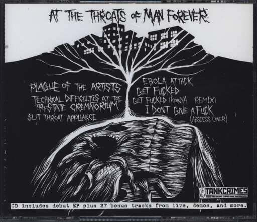 Population Reduction: At The Throats Of Man Forever, CD