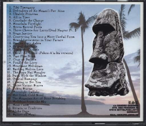 Wadge: The Road To Hana, CD