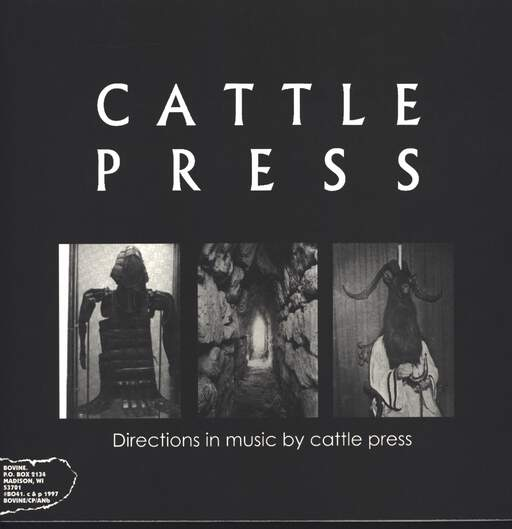 Cattle Press: Directions In Music By Cattle Press / Agoraphobic Nosebleed, LP (Vinyl)