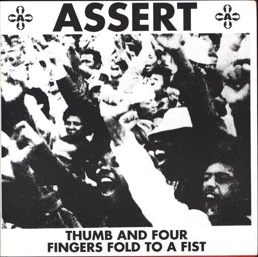 "Assert: Thumb And Four Fingers Fold To A Fist, 7"" Single (Vinyl)"