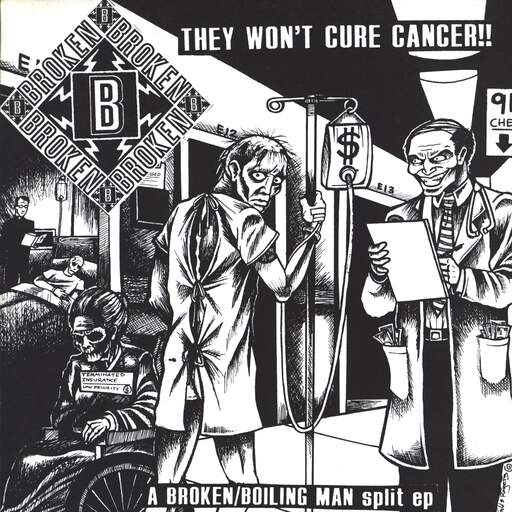 "Broken: They Won't Cure Cancer!! / Mr. Rat Race, 7"" Single (Vinyl)"