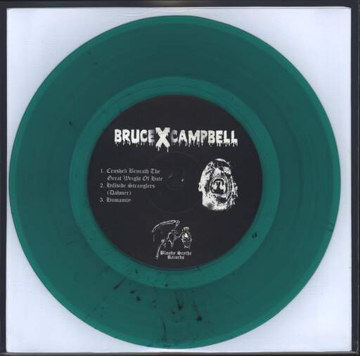 "BruceXCampbell: Humanity!!! / Untitled, 7"" Single (Vinyl)"
