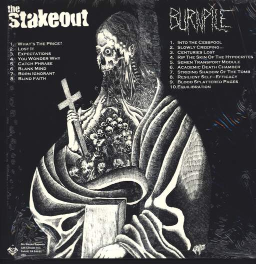 The Stakeout: The Stakeout / Burnpile, LP (Vinyl)