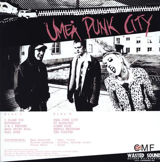 Disconvenience: Umeå Punk City, LP (Vinyl)