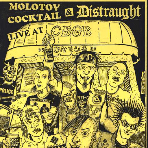 "Molotov Cocktail: Molotov Cocktail / Distraught, 7"" Single (Vinyl)"