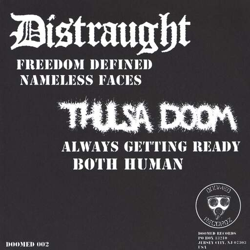 "Distraught: Split EP, 7"" Single (Vinyl)"