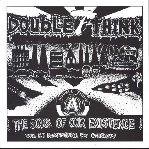"Double Think: The Scars Of Our Existence Will Be Remembered For Eternity, 7"" Single (Vinyl)"