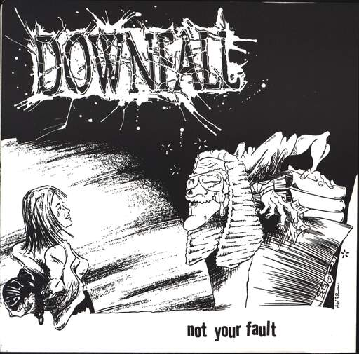 "Downfall: Not Your Fault, 7"" Single (Vinyl)"
