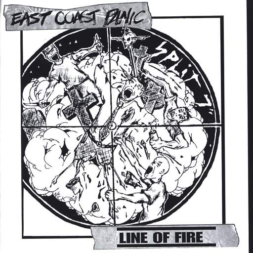 "East Coast Panic: East Coast Panic / Line Of Fire, 7"" Single (Vinyl)"