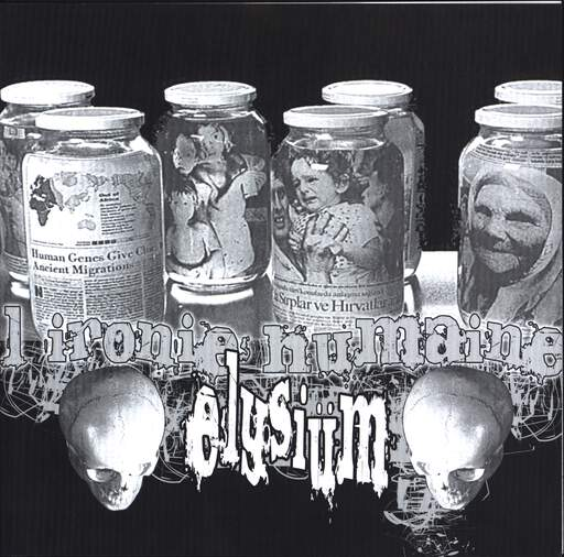 "Elysium: L'Ironie Humaine / For All You Fuckin Posers!, 7"" Single (Vinyl)"