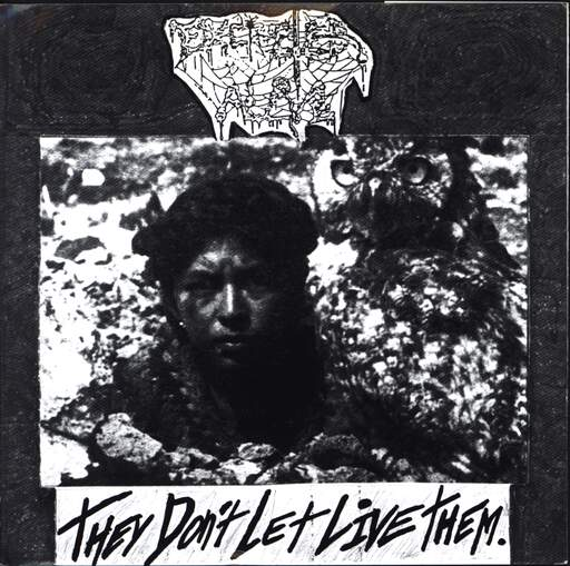 "Excreted Alive: They Don't Let Live Them / Condemned Childhood, 7"" Single (Vinyl)"