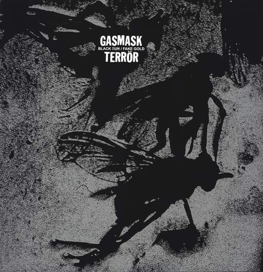 "Gasmask Terrör: Black Sun / Fake Gold, 12"" Maxi Single (Vinyl)"