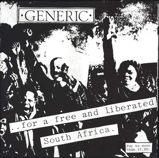 "Generic: ..For A Free And Liberated South Africa, 7"" Single (Vinyl)"