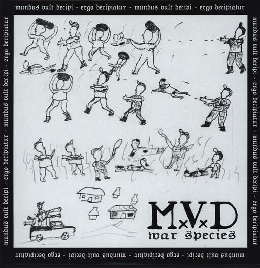 M.V.D: War Species, LP (Vinyl)