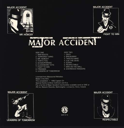Major Accident: Clockwork Heroes, LP (Vinyl)