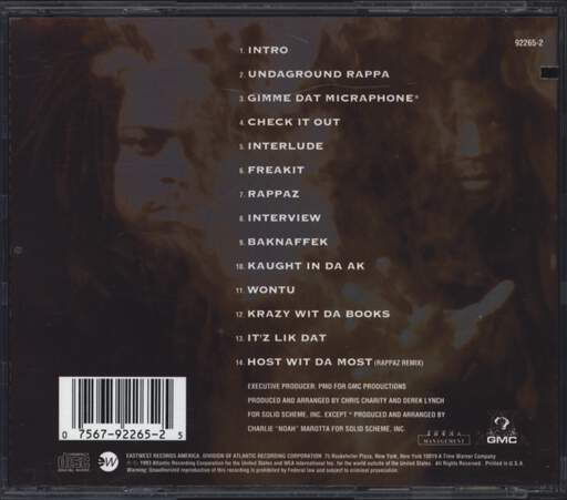 Das Efx: Straight Up Sewaside, CD