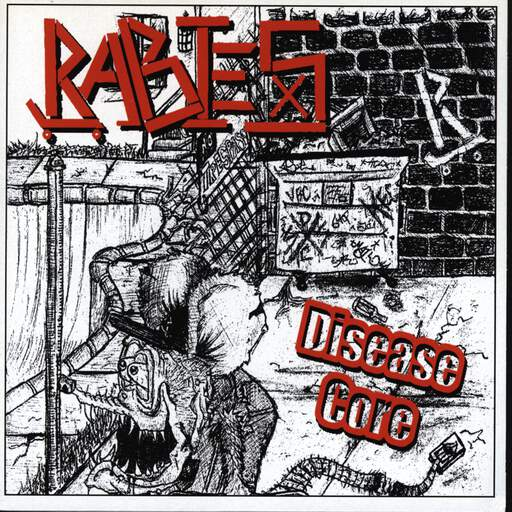 "Rabies: Disease Core, 7"" Single (Vinyl)"