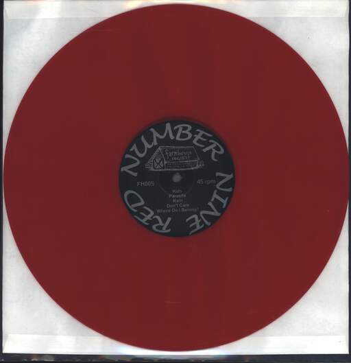 Red Number Nine: No Hope?, Mini LP (Vinyl)