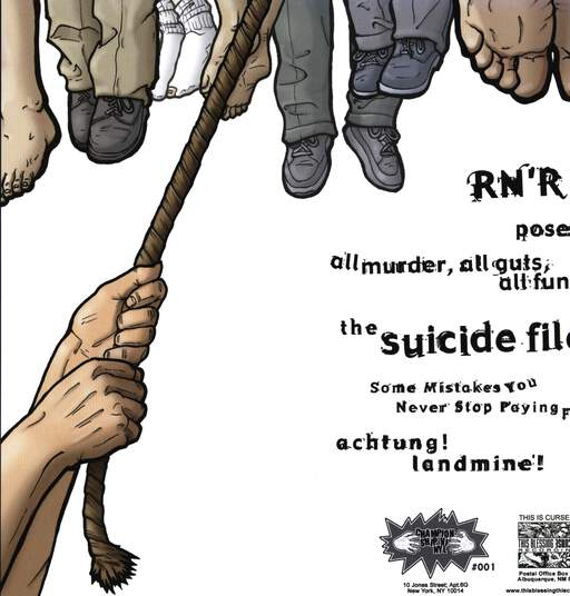 "R'N'R: R'N'R / The Suicide File, 7"" Single (Vinyl)"