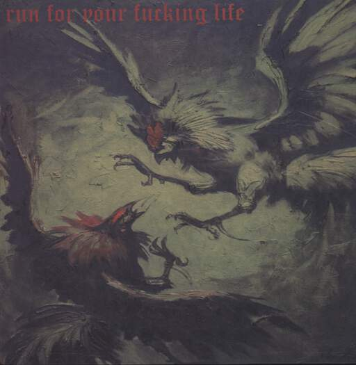 "Run For Your Fucking Life: Run For Your Fucking Life, 12"" Maxi Single (Vinyl)"