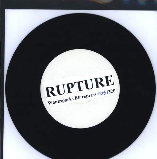 "Rupture: GG. Allin = God, 7"" Single (Vinyl)"