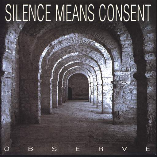 "Silence Means Consent: Observe Disturb, 7"" Single (Vinyl)"