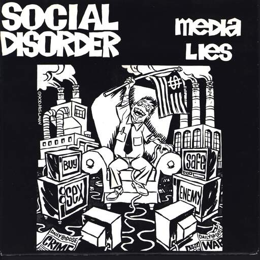 "Social Disorder: Media Lies, 7"" Single (Vinyl)"