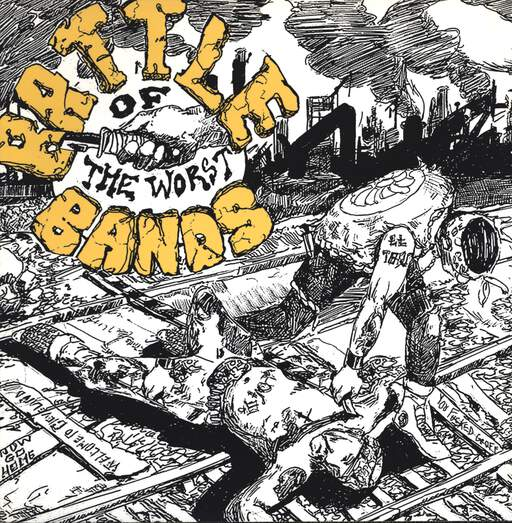 Various: Battle Of The Worst Bands, LP (Vinyl)