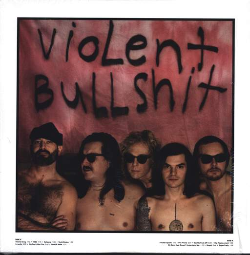 "Violent Bullshit: Adult Problems, 12"" Maxi Single (Vinyl)"