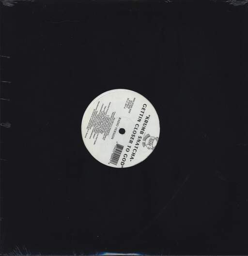 "Krumb Snatcha: Gettin Closer To God, 12"" Maxi Single (Vinyl)"