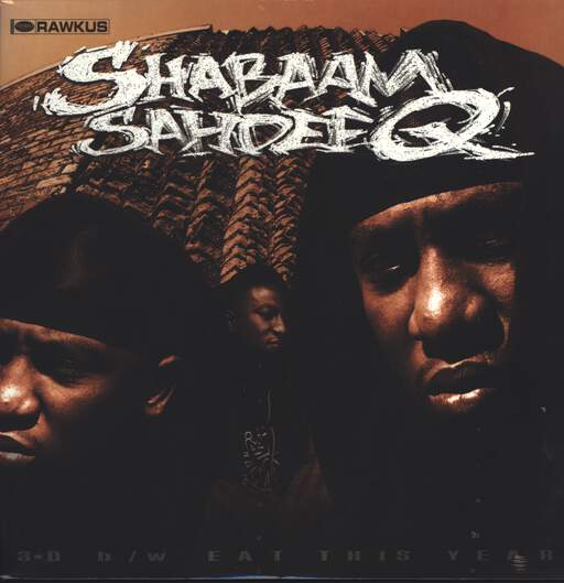 "Shabaam Sahdeeq: 3-D / Eat This Year, 12"" Maxi Single (Vinyl)"