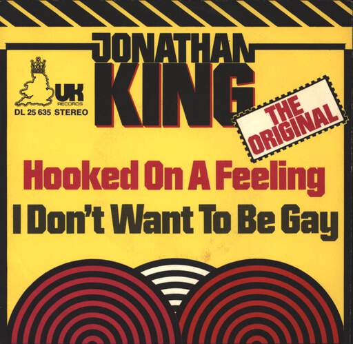 "Jonathan King: Hooked On A Feeling, 7"" Single (Vinyl)"