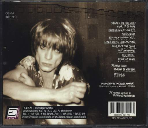 Michael Monroe: Peace Of Mind, CD