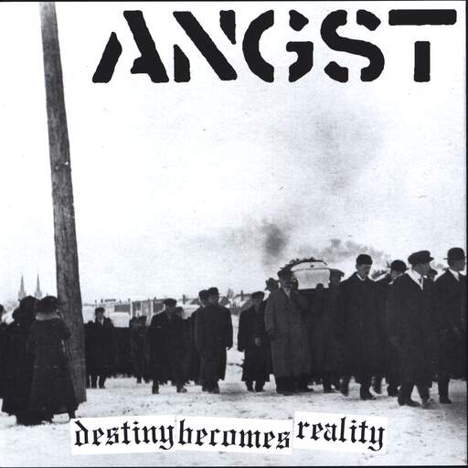 "Angst: Destiny Becomes Reality, 7"" Single (Vinyl)"