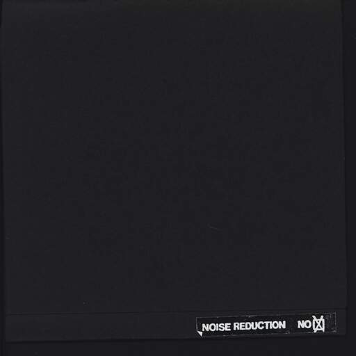 "Noise Reduction NO: Untitled, 7"" Single (Vinyl)"