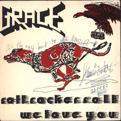 "Grace: Roll Rocker Roll / We Love You, 7"" Single (Vinyl)"