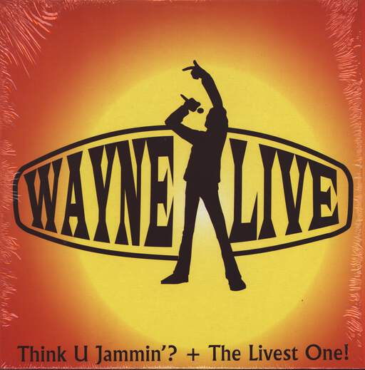 "Wayne Live: Think U Jammin'? / The Livest One!, 12"" Maxi Single (Vinyl)"